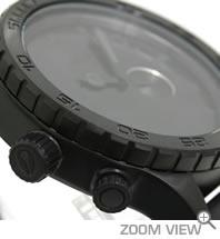 ニクソン 腕時計 NIXON 51-30 PU NA058001-00 オールブラック 横向き