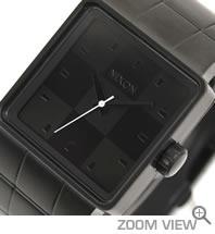 NIXON ニクソン 腕時計 QUATRO NA013001-00 オールブラック 文字盤