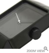 NIXON ニクソン 腕時計 QUATRO NA013001-00 オールブラック 横向き