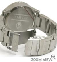 NIXON ニクソン 腕時計 42-20 CHRONO NA037000-00 ブラック ベルト