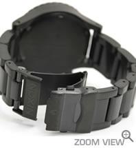 ニクソン NIXON 腕時計 42-20 CHRONO NA037001-00 オールブラック ベルト