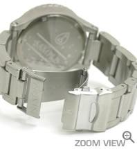 NIXON ニクソン 腕時計 42-20 CHRONO NA037100-00 ホワイト ベルト