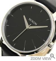 ニクソン NIXON 腕時計 KENSINGTON LEATHER NA108000-00 ブラック 文字盤