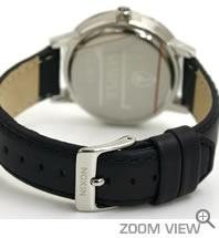 ニクソン NIXON 腕時計 KENSINGTON LEATHER NA108000-00 ブラック ベルト