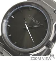 NIXON 腕時計 ニクソン CANNON NA160001-00 オールブラック 文字盤