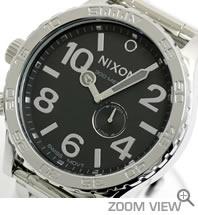 ニクソン 腕時計 51-30 NA057487-00 ハイポリッシュ/ブラック NIXON 文字盤