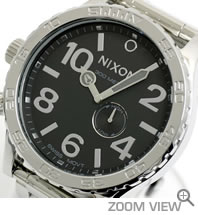 �j�N�\�� �r���v 51-30 NA057487-00 �n�C�|���b�V��/�u���b�N NIXON ������