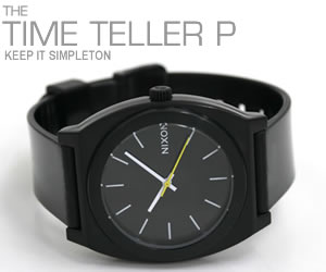 NIXON 腕時計 ニクソン TIME TELLER P NA119000-00 ブラック モデル