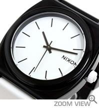 NIXON 腕時計 TTP (TIME TELLER P) NA119005-00 ブラック/ホワイト ニクソン 文字盤