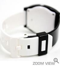 NIXON 腕時計 TTP (TIME TELLER P) NA119005-00 ブラック/ホワイト ニクソン ベルト