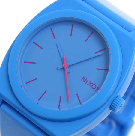 NIXON 腕時計 ニクソン TIME TELLER P NA119606-00 ブライトブルー 文字盤