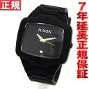 NIXON RUBBER PLAYER Nixon rubber player watch NA139000-00 Black Nixon