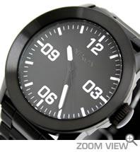 ニクソン 腕時計 PRIVATE SS NA276001-00 オールブラック NIXON 文字盤