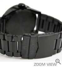 ニクソン 腕時計 PRIVATE SS NA276001-00 オールブラック NIXON ベルト