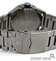NIXON 腕時計 PRIVATE SS NA276624-00 ガンメタル/ブルー ニクソン ベルト