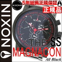Nixon NIXON MAGNACON SS マグナコンエスエス watch men's NA154001-00 Black NIXON regular Nixon