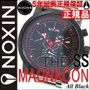 Nixon NIXON MAGNACON SS マグナコンエスエス watch men's NA154001-00 Black NIXON regular Nixon