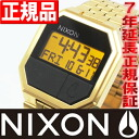 Nixon NIXON RE-RUN re run gold watch men's NA158502-00 gold