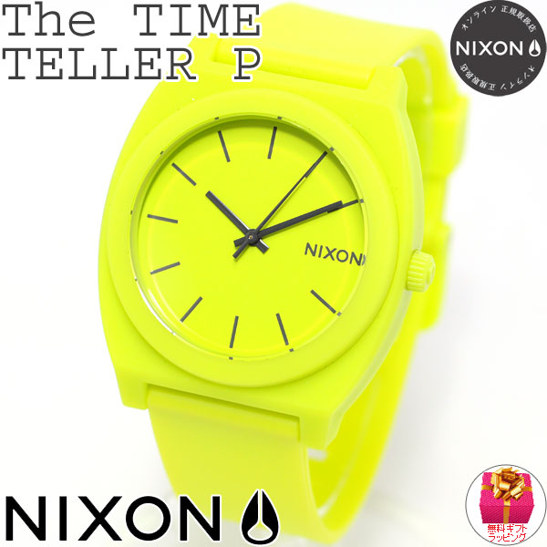 asr rakuten global market nixon nixon thyme teller p time teller p watch lady 39 s men neon. Black Bedroom Furniture Sets. Home Design Ideas