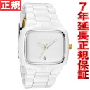 Nixon NIXON player PLAYER watch mens all white / gold NA1401035-00