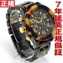 Nixon 42-20 NIXON 42-20 Chrono all Black Tortoise watch 42-20 Nixon women's / men's NA037679-00