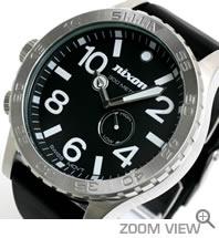 ニクソン NIXON 腕時計 51-30 PU ブラック NA058000-00 文字盤