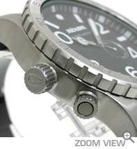 ニクソン NIXON 腕時計 51-30 PU ブラック NA058000-00 横向き