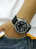 ニクソン NIXON 腕時計 51-30 PU ブラック NA058000-00 着用