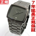 Nixon NIXON player PLAYER watch men mat black / mat gunmetal NA1401062-00