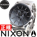 Nixon NIXON Sentry Kurono SENTRY CHRONO watch men chronograph black NA386000-00