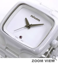 NIXON ニクソン 腕時計 THE CERAMIC PLAYER メンズモデル NA145126-00ホワイト THE ELITE CLASS