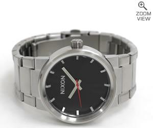 ニクソン 腕時計 メンズモデル NA160000-00 NIXON THE CANNON ブラック