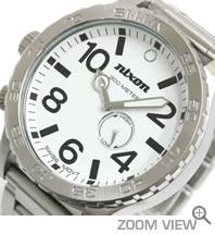 NIXON 時計 ニクソン THE 51-30 NA057100-00 ホワイト 文字盤