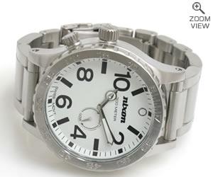 NIXON 時計 ニクソン THE 51-30 NA057100-00 ホワイト 横置き