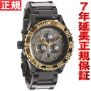 Nixon NIXON 42-20 CHRONO Chrono Watch men's / women's chronograph ガンゴールド NA0371228-00