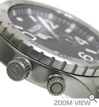 NIXON ニクソン 腕時計 THE 51-30 (フィフティーワン サーティー) ブラック NA057000-00