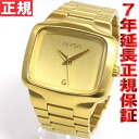Nixon NIXON ビックプレイヤー BIG PLAYER watch Mens Gold NA487502-00