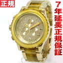 Nixon NIXON 42-20 Chrono 42-20 CHRONO watch ladies ' / men's chronograph champagne gold / amber NA0371423-00