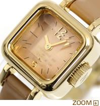 CABANE de ZUCCa 腕時計 CARAMEL カバン ド ズッカ キャラメル AWGP005 文字板アップ