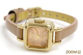 CABANE de ZUCCa 腕時計 CARAMEL カバン ド ズッカ キャラメル AWGP005 横置き
