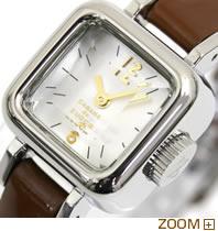 カバン ド ズッカ 腕時計 CARAMEL CABANE de ZUCCa ブラウン AWGP006 文字板アップ