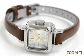 カバン ド ズッカ 腕時計 CARAMEL CABANE de ZUCCa ブラウン AWGP006 横置き