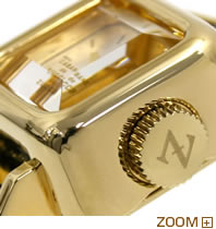 カバン ド ズッカ 腕時計 CABANE de ZUCCa CARAMEL ブラック AWGP007 横向き