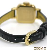 カバン ド ズッカ 腕時計 CABANE de ZUCCa CARAMEL ブラック AWGP007 ベルト