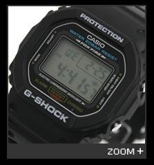 カシオ G-SHOCK 腕時計 5600シリーズ DW-5600E-1 CASIO G-ショック 文字盤