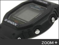 カシオ G-SHOCK 腕時計 5600シリーズ DW-5600E-1 CASIO G-ショック サイド