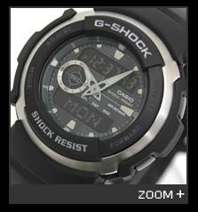 カシオ G-SHOCK 腕時計 G-SPIKE アナログ/デジタル コンビシリーズ G-300-3AJF CASIO G-ショック 文字盤