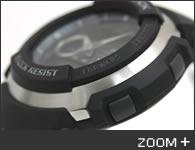 カシオ G-SHOCK 腕時計 G-SPIKE アナログ/デジタル コンビシリーズ G-300-3AJF CASIO G-ショック サイド