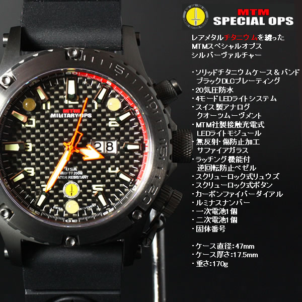 MTM NIGHT OPS BLACK VOLTURE ブラックバルチャー