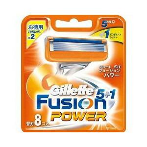 P&G ジレット フュージョン 5+1 パワー替刃 8個入